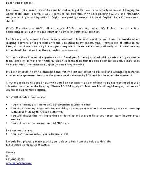 Employment Letter Nz Cover Letter Part 4 An Exle