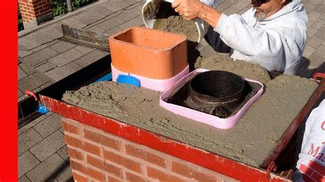 Chimney Mortar Crown Repair - fix fireplace mortar home designing trends