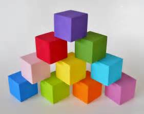 colored blocks building blocks nursery decor colorful set of 10 poplar
