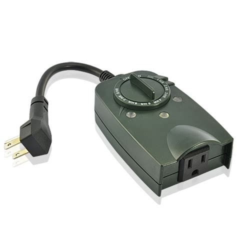 Wholesale Weatherproof Outdoor Photocell Timer With Single Replacement Photocell For Outdoor Light