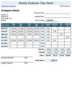Time Card Spreadsheet Time Sheet Template For Excel Timesheet Calculator