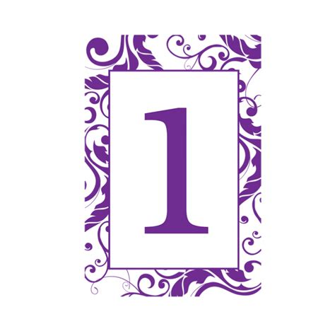 Red Gold And Silver Christmas Decorations Purple Scroll Table Numbers The Last Detail