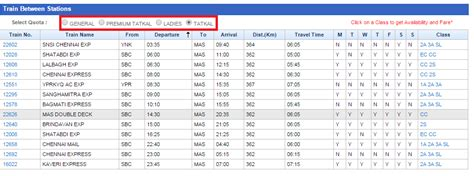 irctc seat avalable irctc tatkal ticket booking process irctc co in