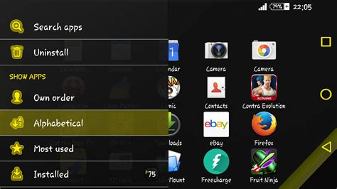 yellow themes for android xz yellow on black theme android apps on google play
