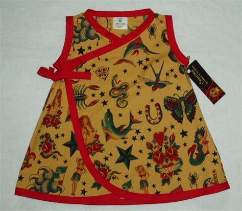 tattoo baby clothes rockabilly toddler baby dress clothes ebay