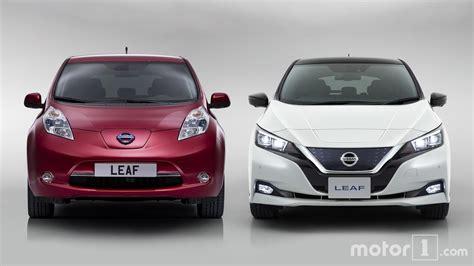 nissan leaf 2018 model 2018 nissan leaf see the changes side by side