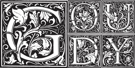 decorative initials font cloister initials fonts