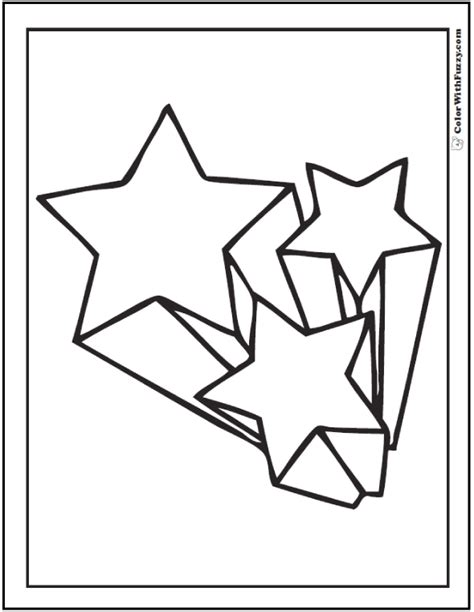 shooting star coloring pages for preschool shooting best