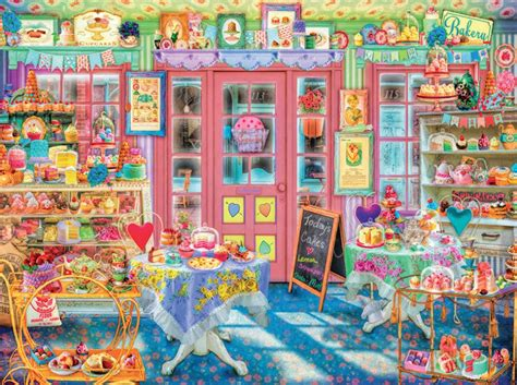browse the puzzle shop in the cake shop aimee stewart hidden hidden images