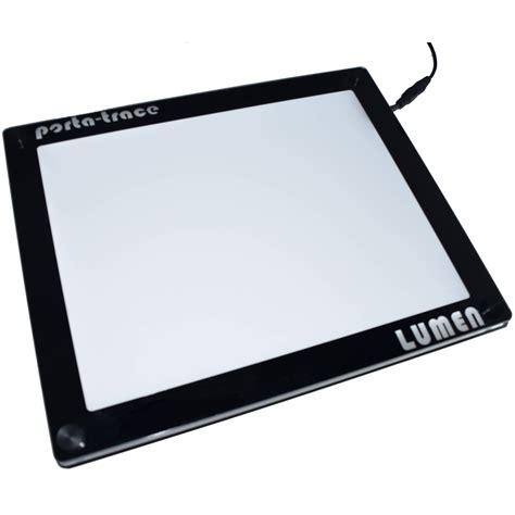porta trace light panel porta trace gagne frameless crystal led lumen light 1118