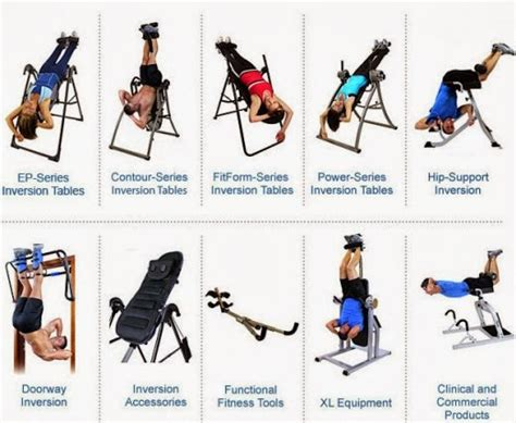 types of inversion tables fitness tips and measures for a healthy life