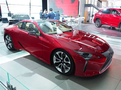 lexus lf lc black lexus lc 500 one of the at 2016 detroit auto