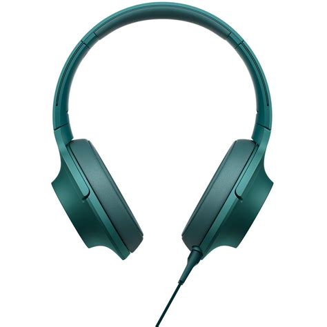 Sony Mdr 100aap sony h ear on high resolution audio headphones mdr 100aap l b h
