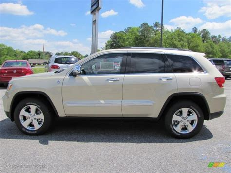 gold jeep cherokee white gold metallic 2011 jeep grand cherokee overland 4x4