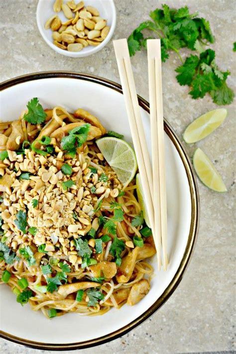 thai dinner menu ideas easy chicken pad thai dinner ideas chicken