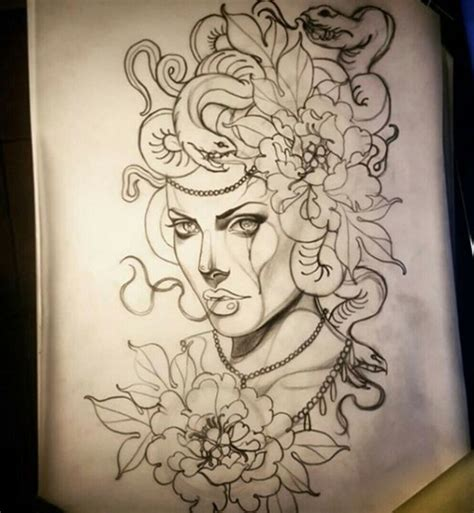madusa tattoo best 25 medusa ideas on medusa drawing