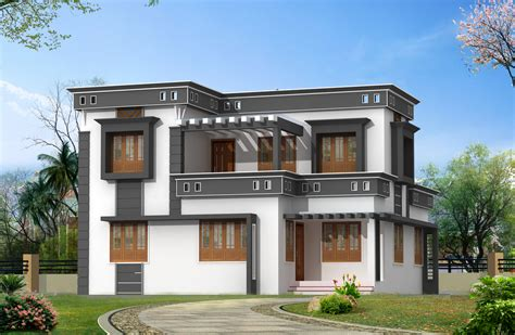 Home Design View Front New Home Designs Modern House Exterior Front