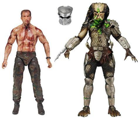 Figure Predator Isi 7 Pcs neca predator the battle vs jungle 7