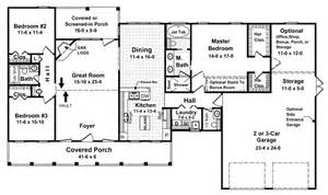 one story house plans shaped feet ranch design square foot