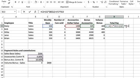 tutorial excel 2013 formulas excel 2013 tutorial 8 formulas part 3 youtube