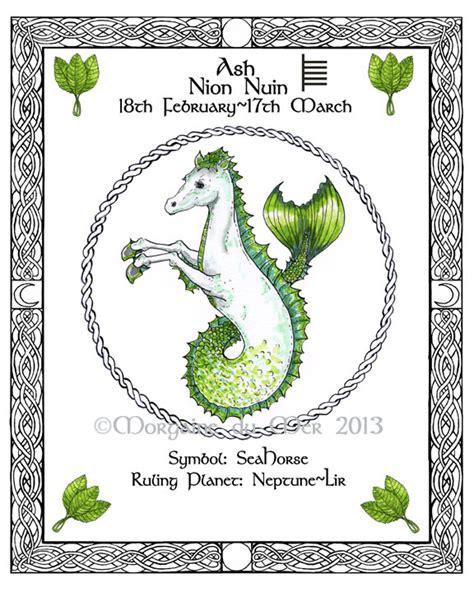Celtic Tree Calendar Druid Tree Lore Astrology Celtic Lunar Zodiac Sign