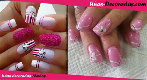 imagenes de uñas pintadas en color rosa los dise 241 os m 225 s actuales de u 241 as decoradas con mo 241 os