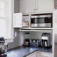 1000 ideas about appliance cabinet on pinterest kitchen