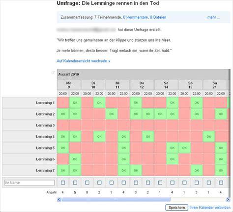 doodle umfrage abstimmungen und gemeinsame terminplanung mit