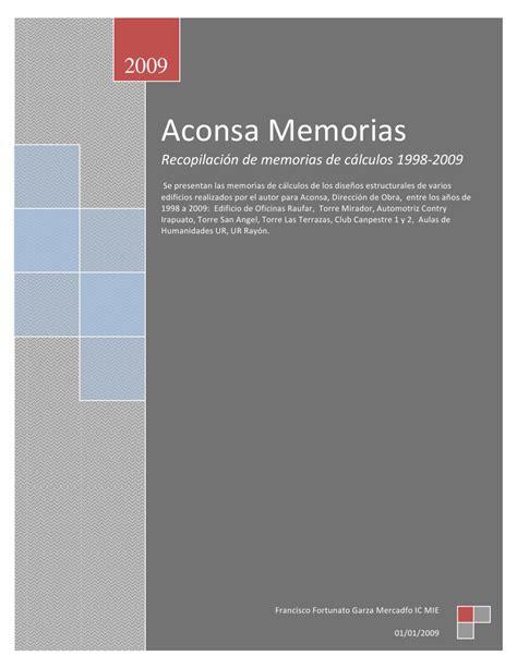 mirador automotriz memorias aconsa by francisco f garza mercado issuu