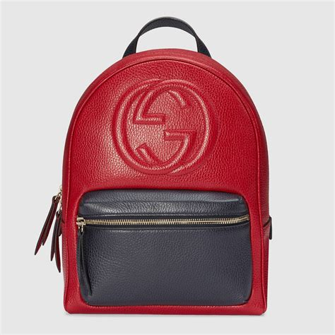 Backpack Gucci by Gucci Soho Leather Chain Backpack 431570cao2g6497