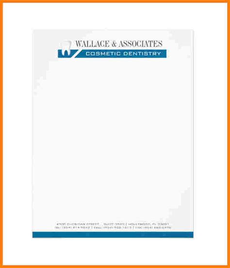 5 free company letterhead template download sample of