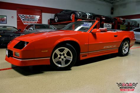 chevrolet camaro iroc  convertible stock