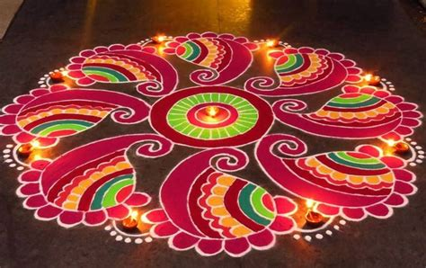 Diwali Decorations For Home by 110 Best Rangoli Designs Patterns Simple Amp Easy For
