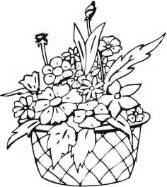 coloring pages of vase with flowers 39 free coloring pages of flowers gianfreda net