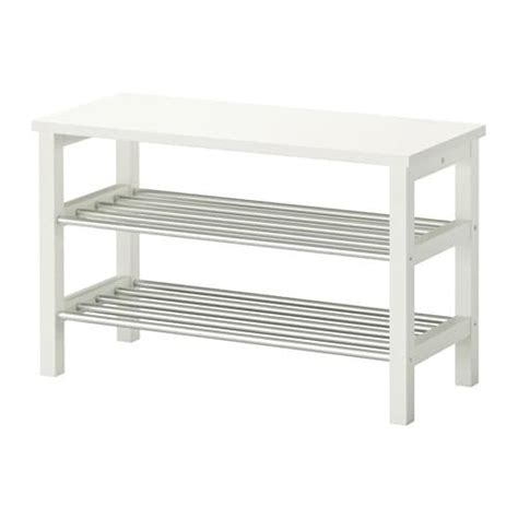 ikea bench with shoe storage tjusig bench with shoe storage white 81x50 cm ikea
