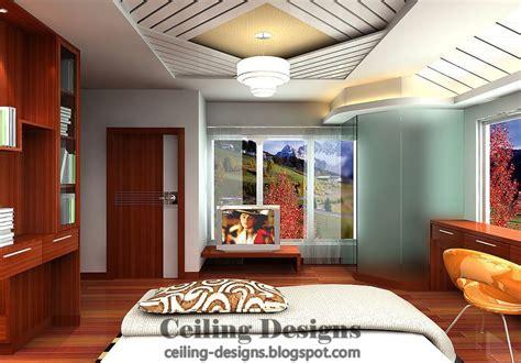 decorated gypsum ceiling designs  bedrooms
