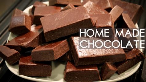 How To Make Handmade Chocolate - the best chocolate