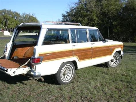 1981 Jeep Wagoneer 1981 Jeep Wagoneer Limited