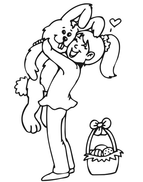stuffed bunny coloring page index of coloringpages easter