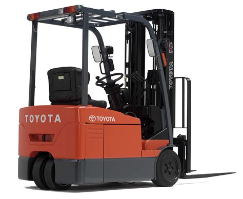 toyota electric motor forklift 7 series 3 wheel