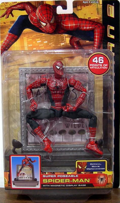 spider 2 figure poseable spider 2 figure magnetic display base
