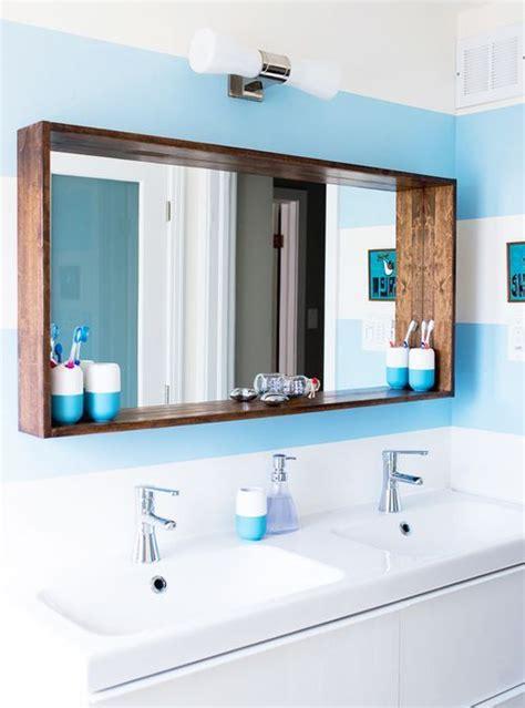 specchio bagno con cornice specchio da bagno con cornice in legno l130 h80 cm