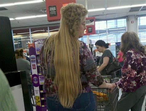walmart cut hair pic 35 crazy things you may see at walmart gallery ebaum s