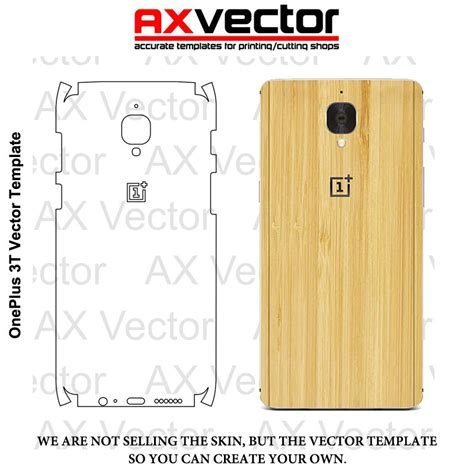 cell phone skin templates oneplus 3t vector template accurate contour cut for skins