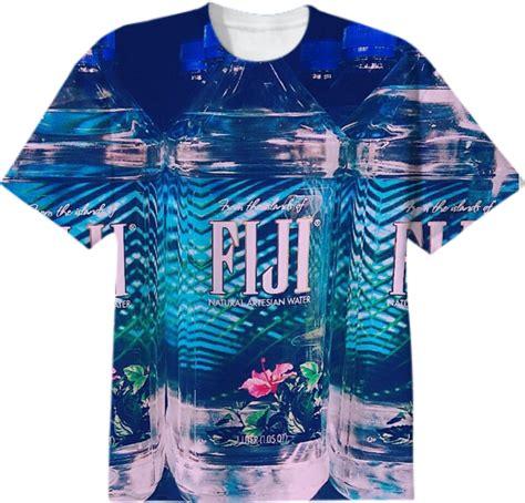 Tshirt H2o Roffico Cloth shop fiji water when i wanna drink cotton t shirt by