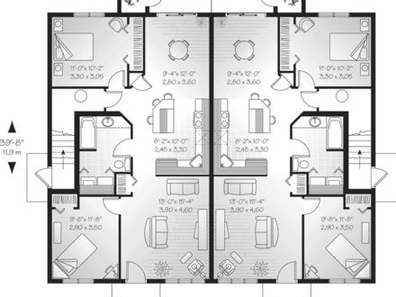 dual family house plans multi family house plans multi family house plans with pool house plans family