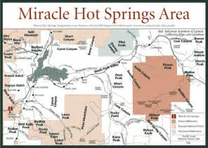 springs northern california map sherpa guides california nevada miracle springs area map