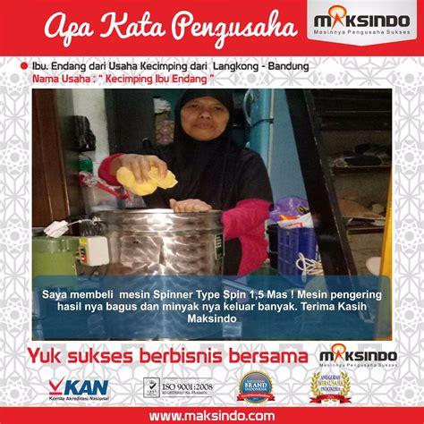 Minyak Kemiri Di Bogor jual mesin spinner peniris minyak di bogor toko mesin maksindo bogor