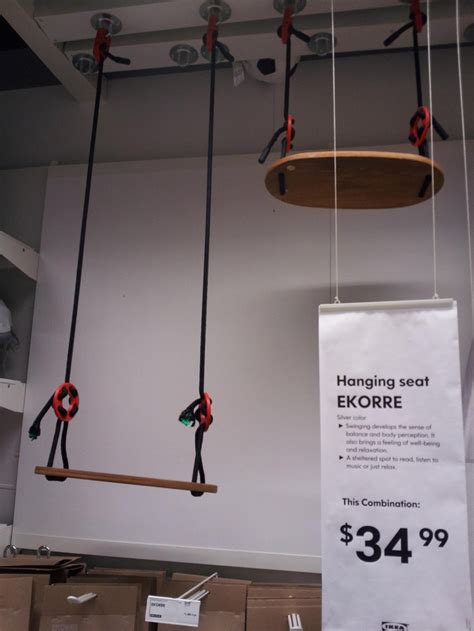 It Would Be Cute To Hang This Swing From The Ceiling In A