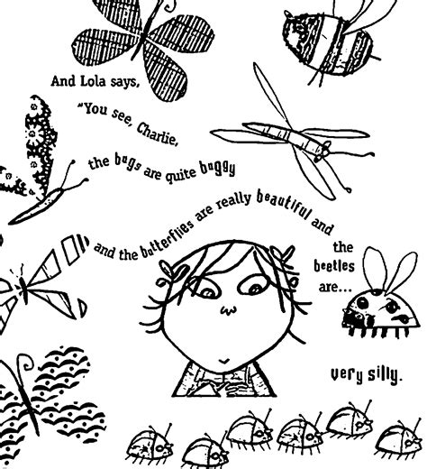 Charlie And Lola Wall Stickers 88 charlie and lola coloring pages ins charlie and